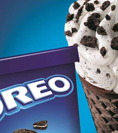 Oreo lança sorvetes inspirados em famosos biscoitos