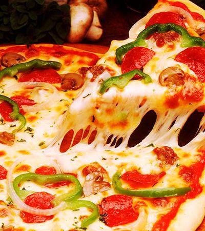 Nesta pizzaria, você avalia o que come e escolhe quanto vai pagar