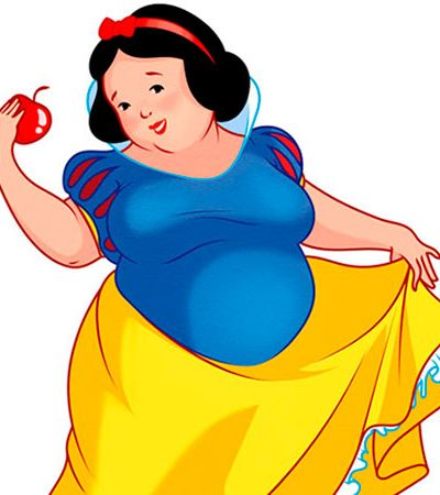 Já era hora: As empoderadoras versões gordas das princesas Disney