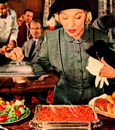 As maravilhosas propagandas de comida dos anos 1950