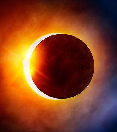 Eclipse solar parcial e outros fenômenos para se maravilhar com o céu em fevereiro