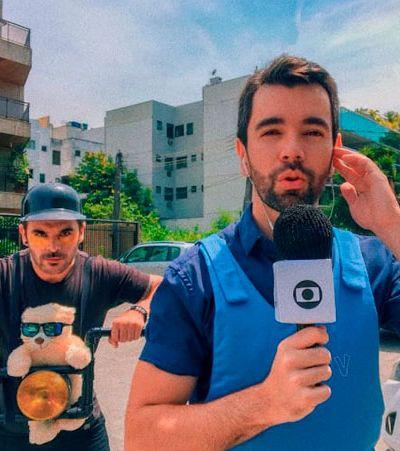 Gato de óculos invadindo link da Globo e outras 8 fantasias geniais do Carnaval 2018