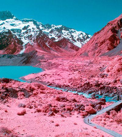 Fotos da Nova Zelândia com infravermelho mais parecem pinturas