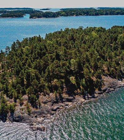 Finlândia tem ilha particular que só permite a entrada de mulheres