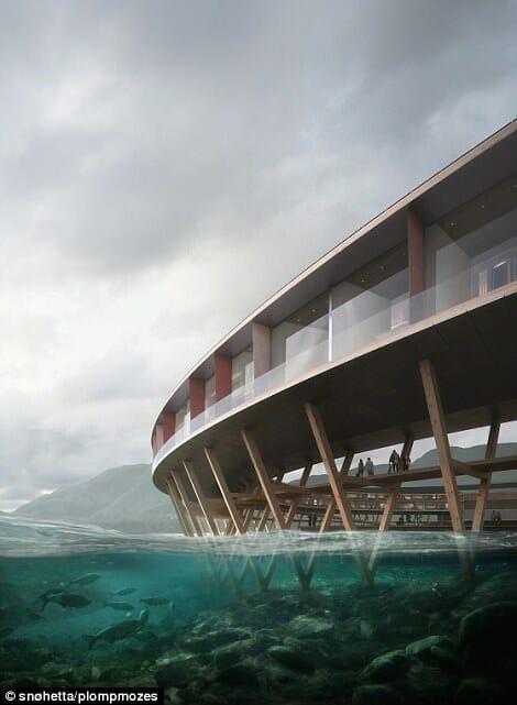 A ideia é que a estrutura interfira o mínimo possível do ambiente