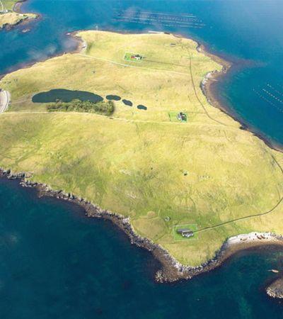 Ilha privada está à venda na Escócia pelo preço de um apartamento em SP ou RJ