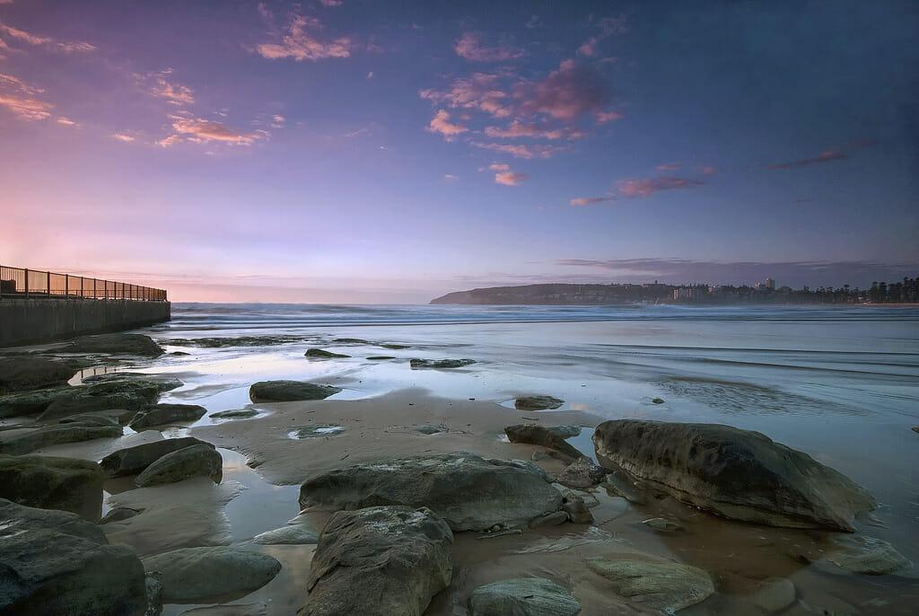 Manly Beach, na Austrália