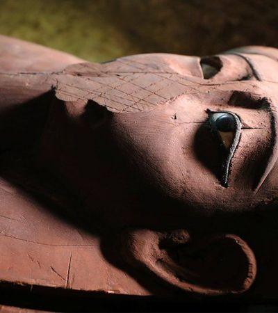 'Mensagem do além' é encontrada em cemitério descoberto no Egito
