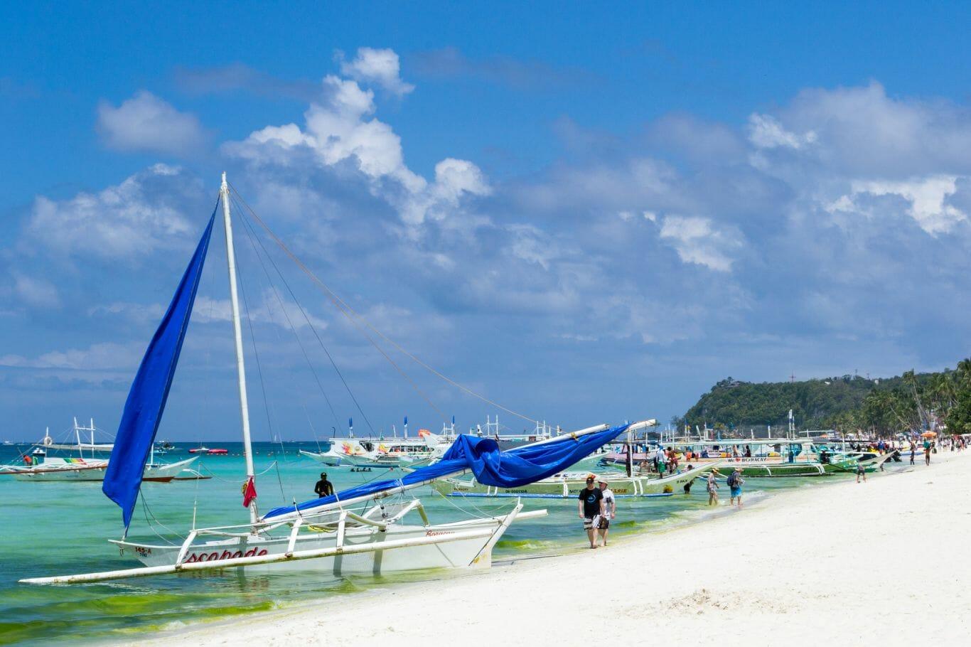 Impossível não amar Bora e White Beach