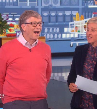 [Vídeo] Quando Bill Gates tenta adivinhar o preço de mantimentos básicos na vida dos 'mortais'