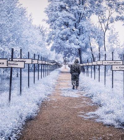 As sinistras fotografias infravermelho de Chernobyl