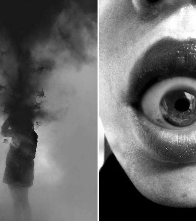 Artista cria retratos surrealistas para tentar ilustrar os mistérios da mente