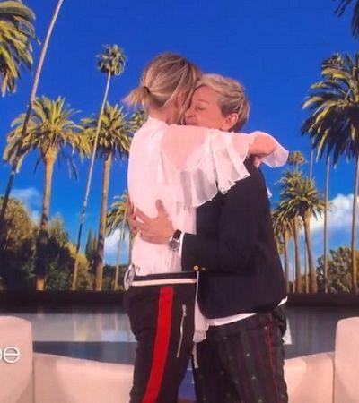 Ellen DeGeneres ganha fundo de preservação de gorilas de presente de aniversário de sua esposa