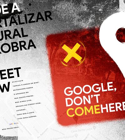 Mobilização pressiona Google para manter graffitis vivos no Street View