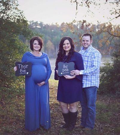 Ela não podia engravidar, então sua sogra decidiu carregar o bebê por ela