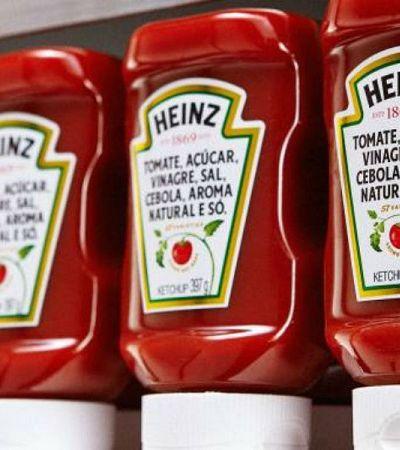 A Heinz decidiu inverter o rótulo do catchup por um excelente motivo