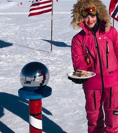 Alvo de machistas, adolescente dá resposta maravilhosa após esquiar 600 km até o Polo Sul