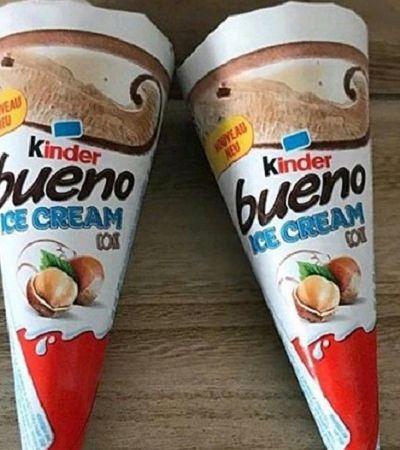 Este sorvete de Kinder Bueno é tudo que você sempre sonhou