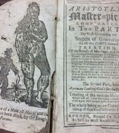 Os bizarros conselhos sexuais de um manual banido há 300 anos no Reino Unido