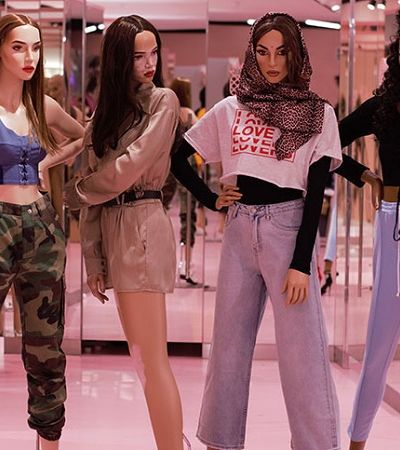 Esta marca decidiu adotar manequins com estrias, vitiligo e outras marcas corporais
