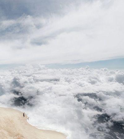 Fotógrafo responde: e se pudéssemos mergulhar nas nuvens?