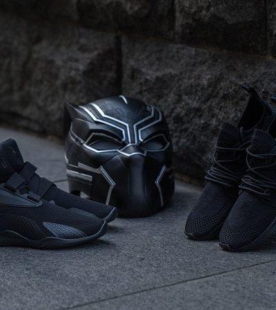 Puma e Marvel se unem para lançar linha 'Pantera Negra' de calçados