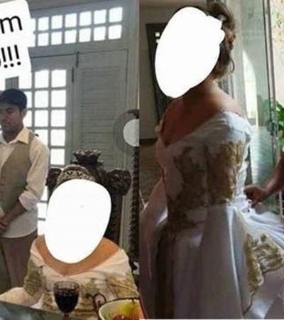 """A inacreditável festa de 15 anos com """"escravos"""" servindo a aniversariante"""
