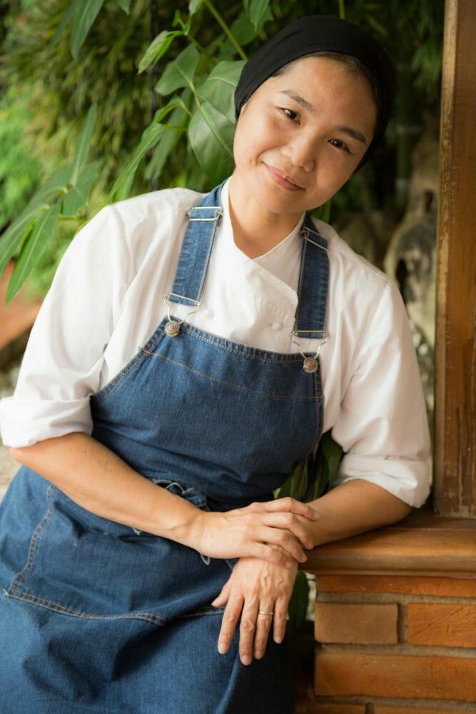 Telma Shiraishi, a chef à frente do impressionante Aizomê
