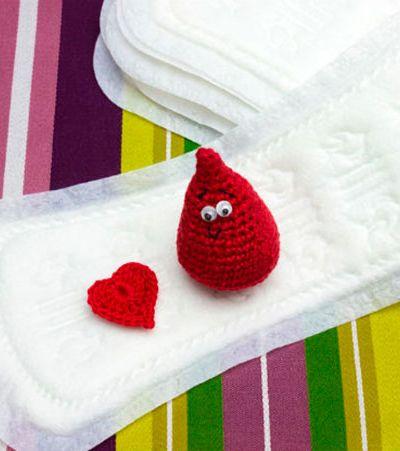 O que a cor da menstruação pode dizer sobre a saúde da mulher