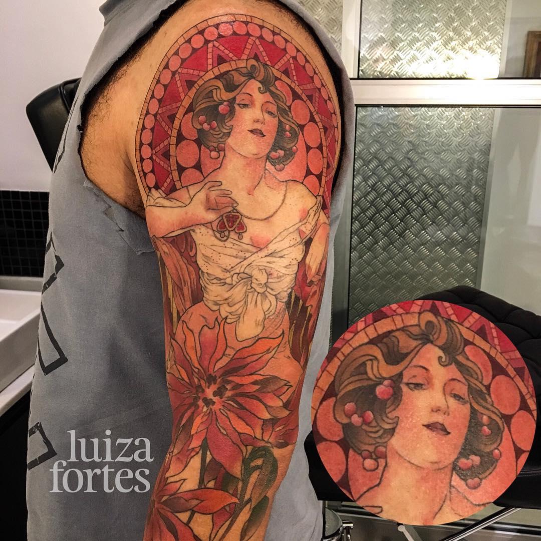 Precisão e cor no trabalho da carioca Luiza Fortes