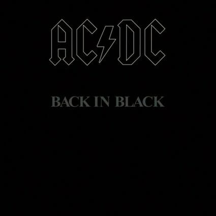 Album: Back in Black (1980) Designer: Bob Defrin