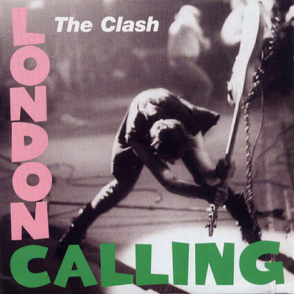 Álbum: London Calling (1979) Designer: Pennie Smith/Ray Lowry