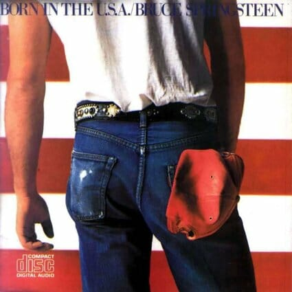 Álbum: Born in the USA (1984) Photographer: Annie Leibovitz