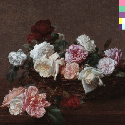 Álbum: Power, Corruption and Lies (1983) Designer: Peter Saville