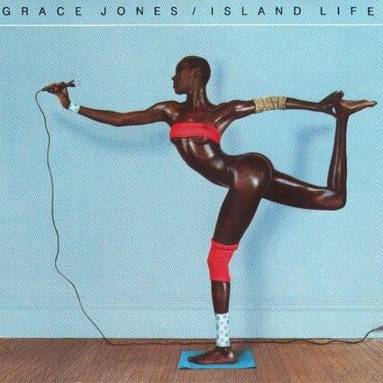 Álbum: Island Life (1985) Designer: Jean-Paul Goude