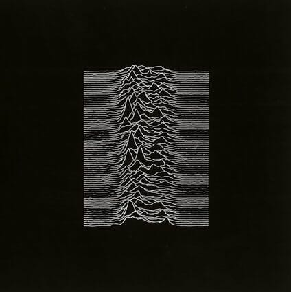 Álbum: Unknown Pleasures (1979) Designer: Joy Division, Peter Saville & Chris Mathan