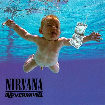 Álbum: Nevermind (1991) Designer: Robert Fisher