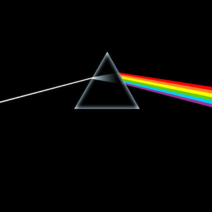 Álbum: Dark Side of the Moon (1973) Designer: Storm Thorgerson