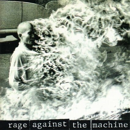 Álbum: Rage Against The Machine (1992) Fotógrafo: : Malcolm Browne