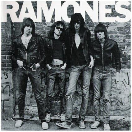 Álbum: Ramones (1976) Fotógrafa: Roberta Bayley