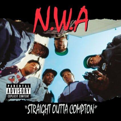 Álbum: Straight Outta Compton (1988) Designer: Helane Freeman
