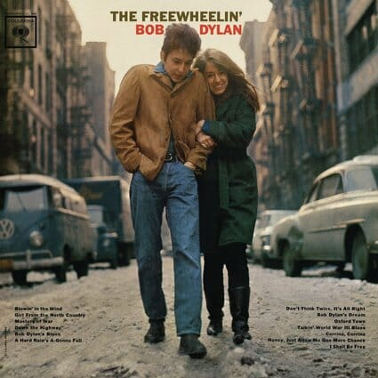 Album: The Freewheelin' Bob Dylan (1963) Photographer: Don Hunstein