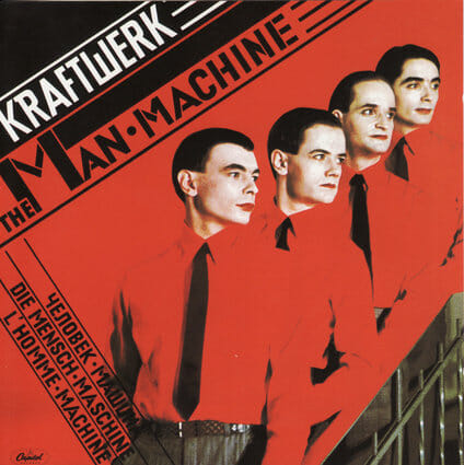 Album: The Man-Machine (1978) Designer: Karl Klefisch/Günther Fröhling