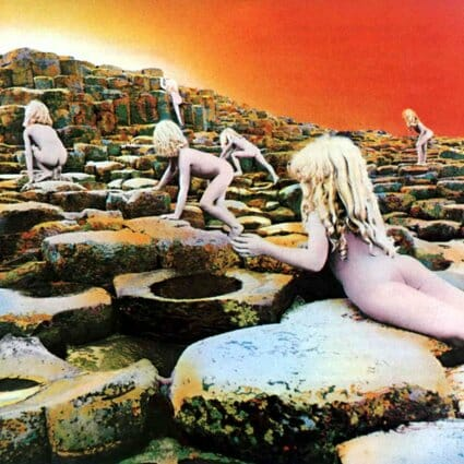 Album: Houses of the Holy (1973) Designer: Aubrey Powell/Storm Thorgerson