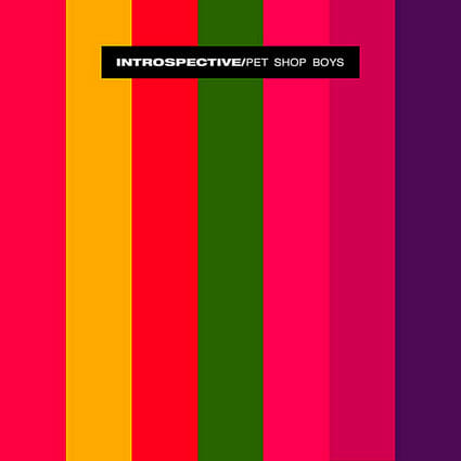 Album: Introspective (1988) Designer: Mark Farrow/Pet Shop Boys