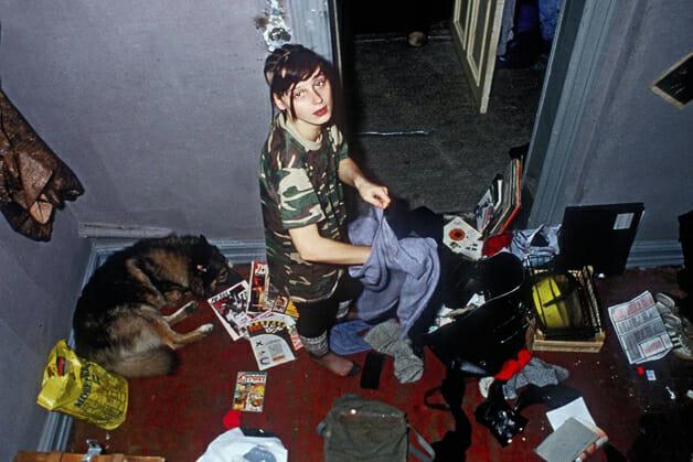 Christiane Em sua casa, à época de seus 18 anos