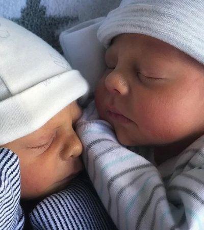 Relato de mãe sobre como seu corpo mudou após gestação de gêmeos e viraliza pelo melhor motivo