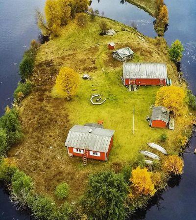 Fotógrafo retrata uma ilha nas quatro estações e o resultado é impressionante