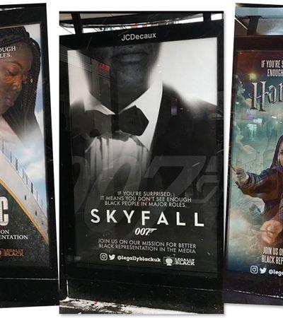 Protagonistas brancos são trocados por atores negros em ação em Londres
