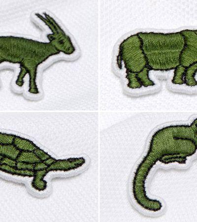 Lacoste substitui tradicional crocodilo por animais em extinção para campanha
